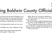 Hardest Working Baldwin County Official